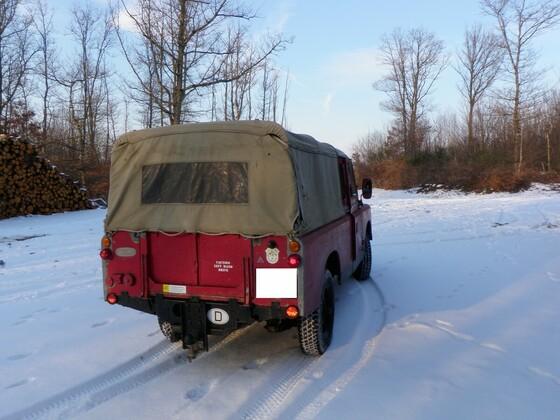 erste Schneefahrt 2012 0