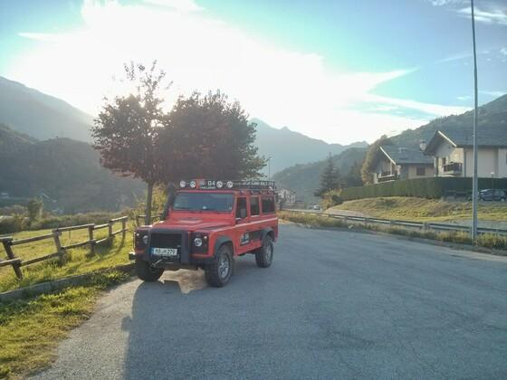 Ausfahrt in den Westalpen