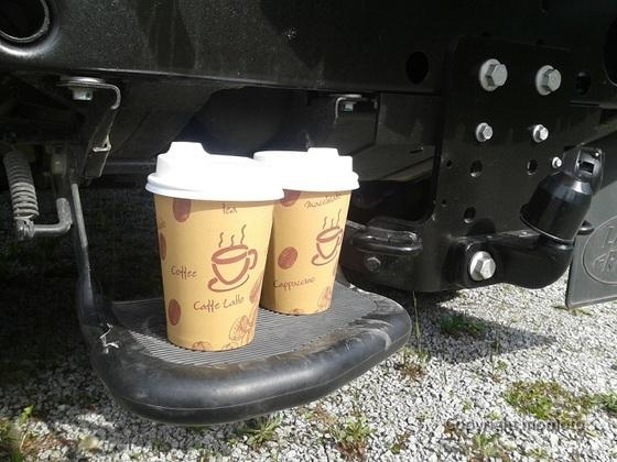 OffRoad und Kaffee