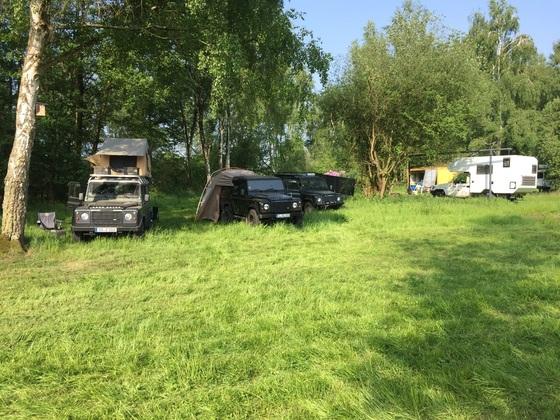 Pfingstwochenende Stammtisch Nord-West, Camp 1