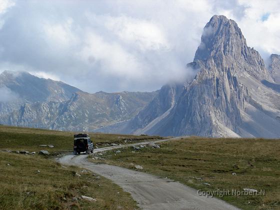 20. September 2006 Westalpen - irgendwo im Grenzgebiet Italien / Frankreich