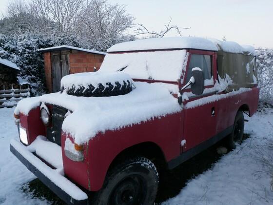 Schneebild 2009